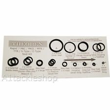 Theoben Air Rifle Seal Kit - All Models - Rapid 7 MK1/MK2/MFR/TTR/S-Type etc