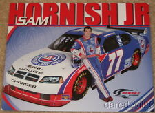 2009 Sam Hornish, Jr. Southern Cal AAA Dodge Charger NASCAR postcard