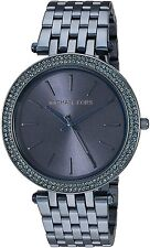 Michael Kors Women's MK3417 Darci Navy Dial Navy Stainless Steel Bracelet Watch