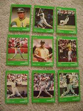 1990 STAR CO JOSE CANSECO GOLD SET OAKLAND A'S RARE 9 CARDS