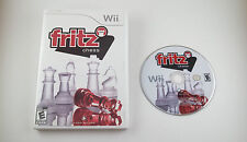 Fritz Chess  --  Nintendo Wii Game w/ Case  ***Guaranteed***