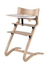 Leander Stuhl natur Babyhochstuhl Kinderstuhl + Bügel + Tablett NEU !!!
