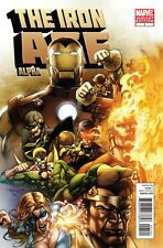 Iron Age Alpha #1 Stephen Segovia 1:20 Variant Cover (Marvel, 2011) NEW