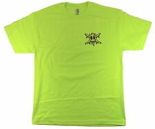 Fourstar Acid Sample Men's Safety Yellow T-shirt - Large (LIMITED EDITION)