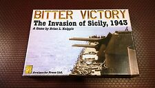 Bitter Victory The Invasion of Sicily 1943 Avalanche Press 2006 open complete
