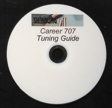 SHINSUNG CAREER 707 and SUMATRA AIR RIFLE TUNING GUIDE,PRINTED DVD+FREE TARGETS