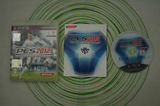 Pro evolution soccer 2012 ps3 pal