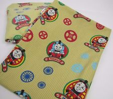 Thomas Tank Engine Sheets Flat AND Fitted James Crib or Youth Bed EUC