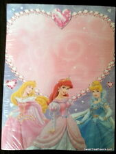 Princess Letter Invitations Paper Birthday Decoration Party Supplies DYI  Sheets