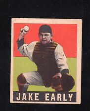 "1948 Leaf #61    Jake Early    Senators      ""no creases""    LOOK !!"