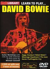 Lick Library Learn to DAVID BOWIE Gitarre DVD TUTOR Spielen