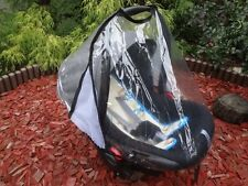 Universal Baby Infant Car Seat Transparent Rain Wind Cover FITS MOST CAR SEATS