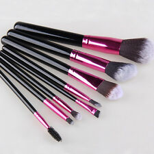 8tlg Profi Make up Pinsel Professionelle Kosmetik Brush Makeup Set Schminkpinsel