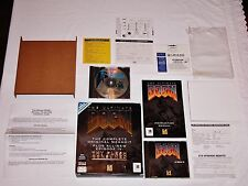 The Ultimate Doom Big Box Complete PC 1995 Original Complete w/Poster Windows 95
