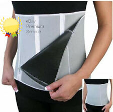 Slimming Belt Adjustable Slim Away Weight Loss Belt 5 Zippers Sauna Action On TV