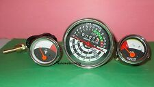 JOHN DEERE TRACTOR TACHOMETER TEMPERATURE FUEL GAUGE SET 1010 2010 replacement