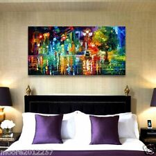 Modern Large Abstract hand-painted Art Oil Painting Wall Decor canvas no framed