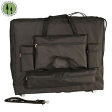 "Massage Table Carrying Case W/ Wheels Replacement + Universal 32"" Width 4 Pocket"