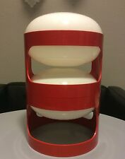 Kartell Joe Colombo KD 27 rot Top Zustand