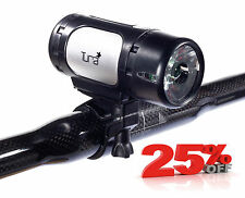 NEW TURA CYCLE FRONT HEAD LIGHT - HI POWER LED - 3 MODES - BIKE BICYCLE MTB ROAD
