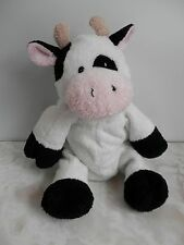 """Ty Pluffies MILKERS the COW Pink Nose Plush TyLux 2006 Soft 9"""""""