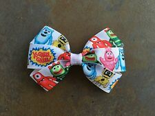Yo Gabba Gabba Hair Bow with Alligator Clip
