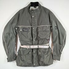 BELSTAFF Men's Jacket size M Olive Green Insulated Authentic Trialmaster XX39