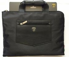 OFFICIAL LAMBORGHINI TABLET & LAPTOP CARRIER HURACAN D4 LAPTOP 12/IPAD PRO BLACK