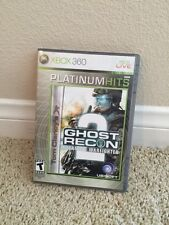 XBOX 360 Tom Clancy's Ghost Recon 2: Advanced Warfighter Video Game PLATINUM HIT