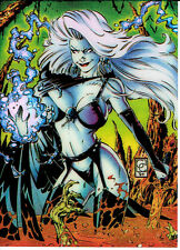 LADY DEATH serie 1 clearchrome CARD 4