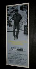 Original 1976 TAXI DRIVER 14X36  Insert ROBERT DE NIRO Martin Scorsese ROLLED NM