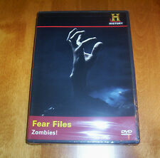 ZOMBIES! Zombie HISTORY CHANNEL Fear Files Ghosts Undead DVD NEW & SEALED
