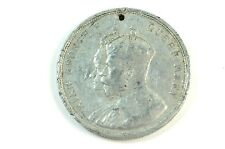 British 1911 Coronation Medal King George V Queen Mary