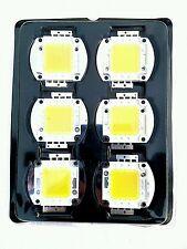 6 Pcs 20 W white High Power LED SMD bead Chips bulb light lamp DC 12-36 V