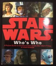 Star Wars Who's Who Pocket Guide Mini Book - Great Stocking Stuffer!