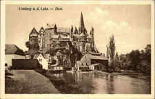 LIMBURG Lahn Hessen ~1920/30 alte Ansichtskarte Dom Kirche Panorama Teilansicht