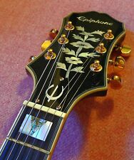 Epiphone Sheraton II Semi Hollow Archtop Electric Guitar with Case!