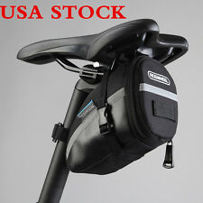 US ROSWHEEL Sport Cycling Bicycle Bike Saddle Bag Seat Packs Tail Rear Pouch