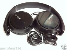 1Sony Genuine MDR-ZX110 Stereo Over Ear Swivel Headphone Black MDRZX110 GOOD