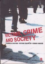 Like New Pamela M. Davies VICTIMS, CRIME AND SOCIETY 2011 CRIMINOLOGY JUSTICE SC