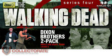 THE WALKING DEAD (TV Version) Merle & Daryl Dixon 2-Pack *NEW*