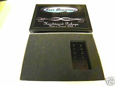 KENT ARMSTRONG HANDWOUND PAF RESIN CAST 12 POLE DUAL COIL PICKUP BLACK