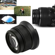 0.35X52MM Super HD Wide Angle Fisheye Lens With Macro for Canon Camera JL