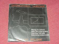 """Richard Strange:  Interbational Language  7""""   EX+  1981"""