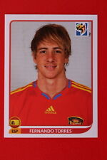 Panini WORLD CUP SOUTH AFRICA 2010 N. 580 ESPANA TORRES MINT!!