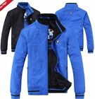 Hot! 2015 new spring and autumn season blue jacket for BMW fashion leisure coat