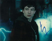 EZRA MILLER.. Justice League's Barry Allen (The Flash) SIGNED