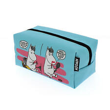 MOOMINS MAKEUP BAG SNORK MAIDEN COSMETIC CASE RETRO MOOMINTROLL FILM RIVIERA
