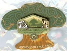 MICKEY & YETI ANIMAL KINGDOM 10th Anniversary PASSHOLDER LE WDW 2008 DISNEY PIN
