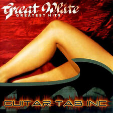 Great White Guitar & Bass Tab GREATEST HITS Lessons on Disc